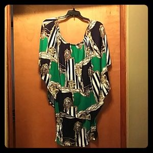 Nautical Versace-style Dress